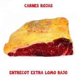 Entrecot de lomo bajo carnes rojas