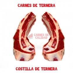 Costilla de ternera