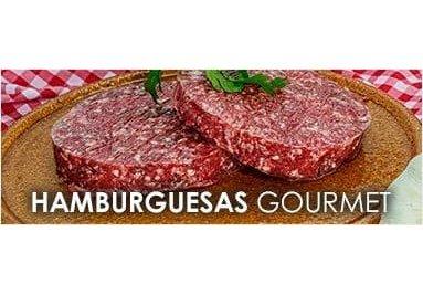 Hamburguesas carne roja