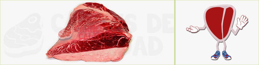 Carne roja picaña