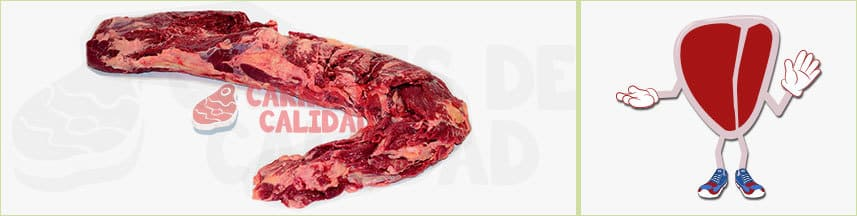 tipo de carne roja solomillo