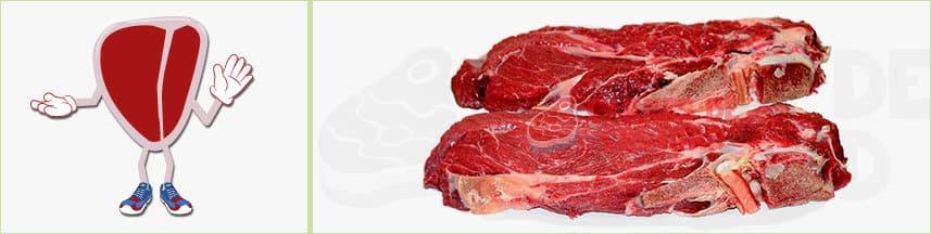 Carne ternera aguja