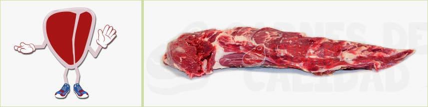 Carne ternera solomillo