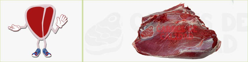 Carne ternera tapa