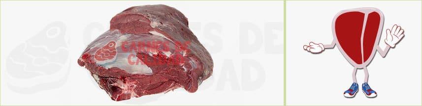 Aguja carnes rojas piezas grandes